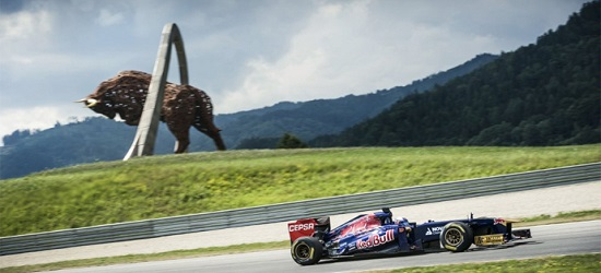 F1 - Austria Banner