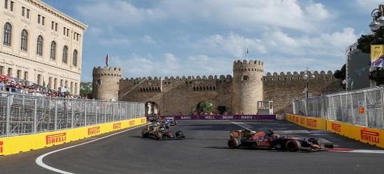 F1 - Baku Banner