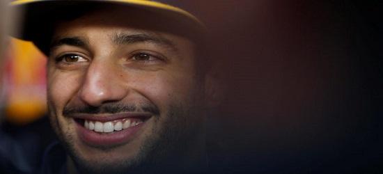 F1 - Daniel Ricciardo - Banner Bottom 1