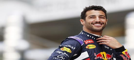 F1 - Daniel Ricciardo - Panel 2