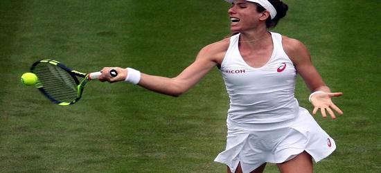 Wimbledon 2016 - Johanna Konta - First Round Banner