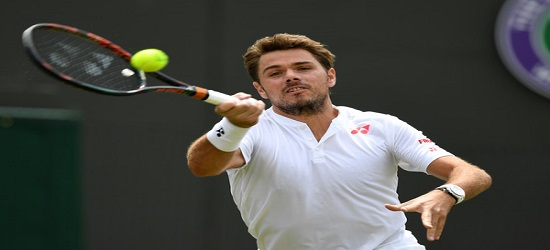 Wimbledon 2016 - Stan Wawrinks - First Round Banner