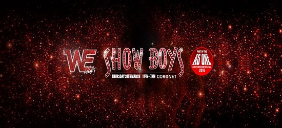 WE - Showboys Banner