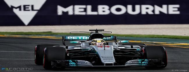 F1 - Australia - Header 2