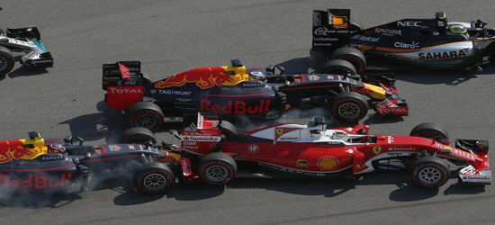Formula One - Russia Crash - Banner 1