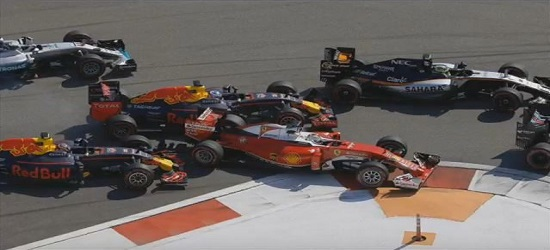 Formula One - Russia Crash - Banner 4