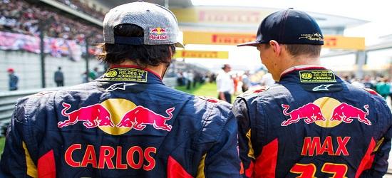 Formula One - Max Verstappen & Carlos Sainz 2