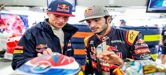 Formula One - Max Verstappen & Carlos Sainz