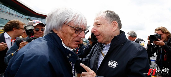 Formula One - Ecclestone & Todt- Banner Top