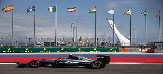 Formula One - Russia - Top Banner