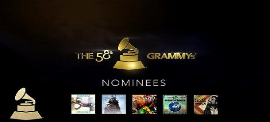 The Grammy's - Banner 3