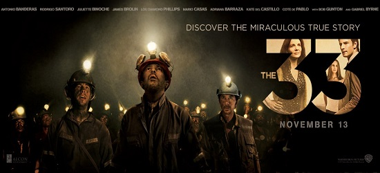 Films - The 33 - Banner