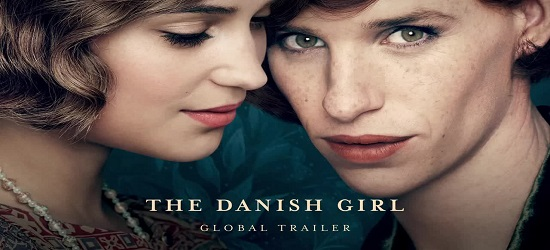 Films - The Danish Girl - Banner