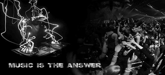 Music is The Answer 6 Banner