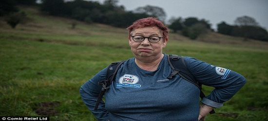 Sports Relief Banner - Jo Brand