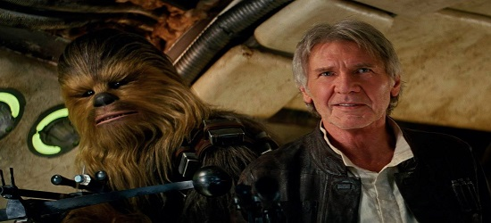 Star Wars - The Force Awakens - Banner Han Solo & Chewbacca