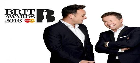 The BRIT's - ITV Banner