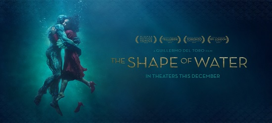 Films - The Shape Of Water - Banner Main