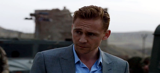 Tom Hiddlestone - The Night Manager - Banner 1