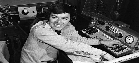 Tony Blackburn - Banner Black & White 1