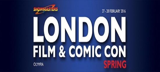 London Film & Comic Con Banner 1