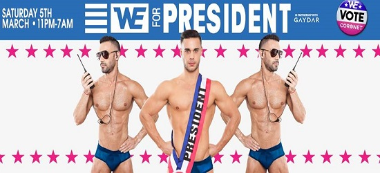 WE Party President - Banner 2