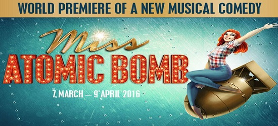 Miss Atomic Bomb - Banner 4