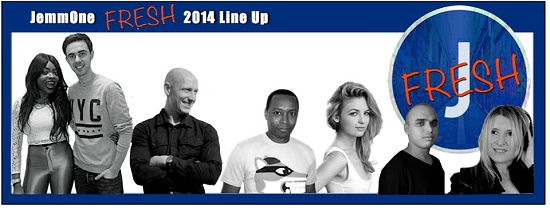 JemmOne - 2014 Line Up