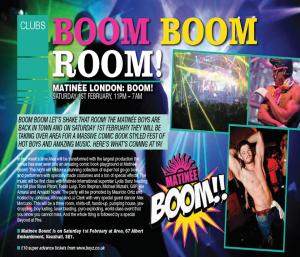 Matinee Boom - Boyz 2