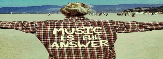 Music Is The Answer 2 Banner